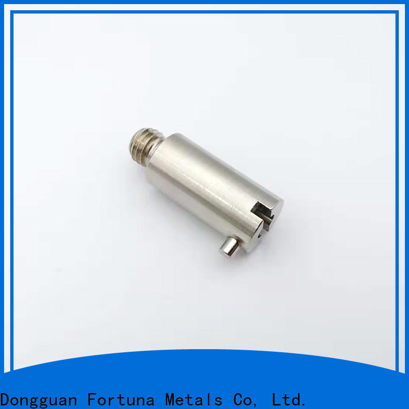 Fortuna machined cnc lathe parts supplier for electronics