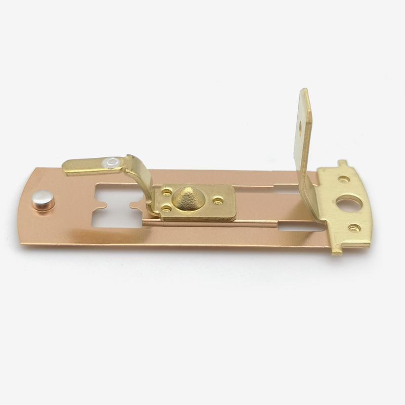 Intramode automatic riveting metal shrapnel