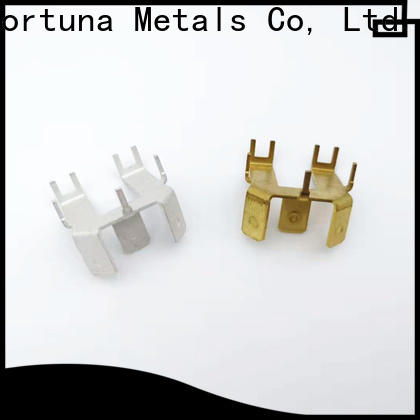 Fortuna multi function metal stamping manufacturers Chinese for electrical terminals for elastic parts