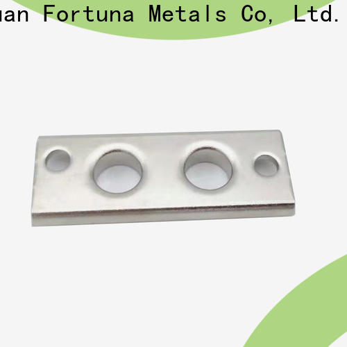 Fortuna lead metal stamping at home manufacturers for conduction,