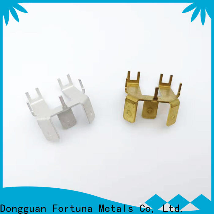 multi function metal stampings connector factory for brush parts