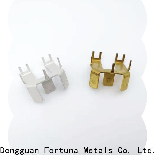 Fortuna durable metal stamping service wholesale for electrical terminals for elastic parts