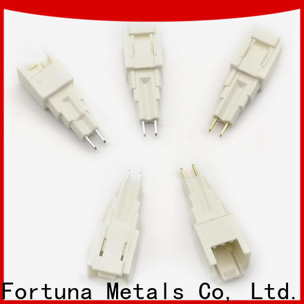 Fortuna Top brass metal stamping Suppliers for conduction,