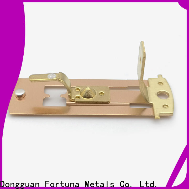 Fortuna ic stamped steel parts company for resonance.