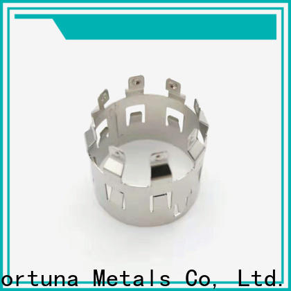 Fortuna lead metal stamping accessories for business for conduction,