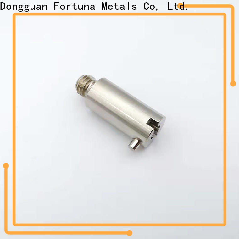 Fortuna machined cnc auto parts supplier for electronics