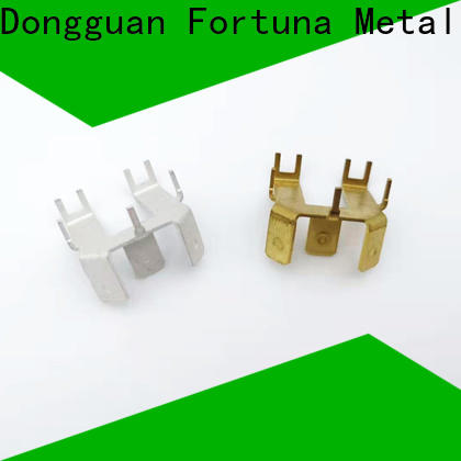 Fortuna good quality metal stamping parts factory for electrical terminals for elastic parts