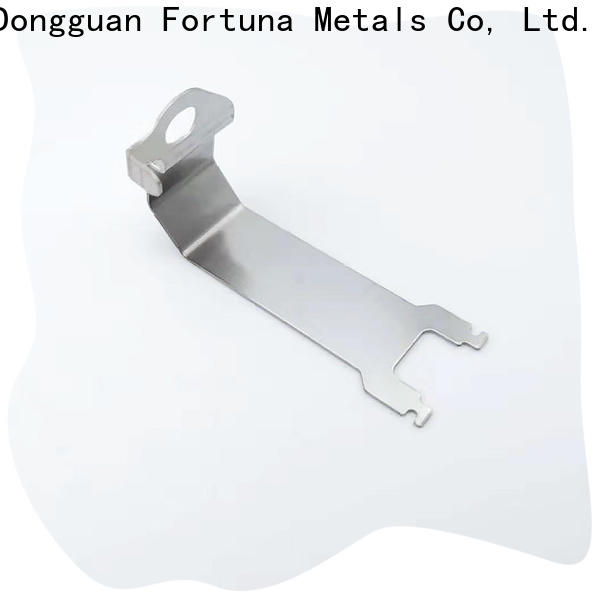 Fortuna metal metal stamping manufacturers wholesale for electrical terminals for elastic parts