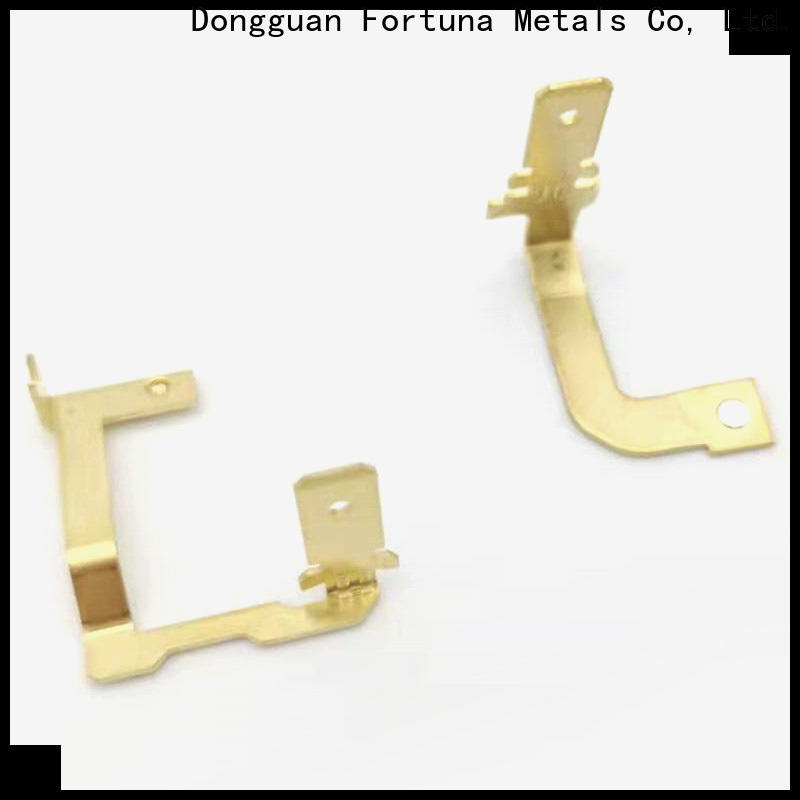 Fortuna precision metal stamping manufacturers for sale for conduction,