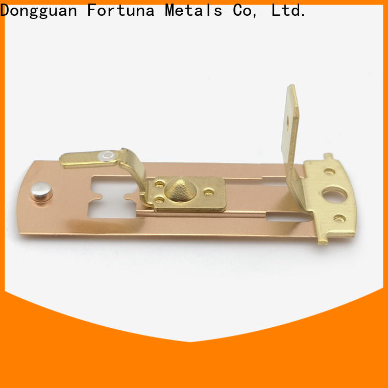 Fortuna durable metal stampings wholesale for connecting devices