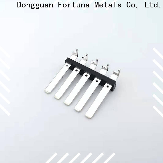 Fortuna terminals precision metal stamping for sale for conduction,