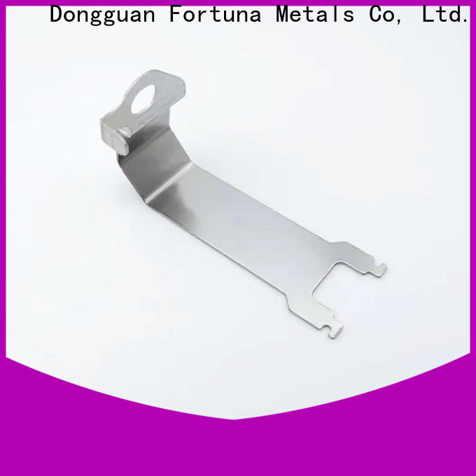 Fortuna discount metal stamping parts factory for electrical terminals for elastic parts
