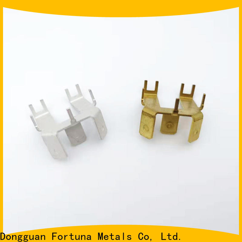 Fortuna precise precision metal stamping supplier for conduction,