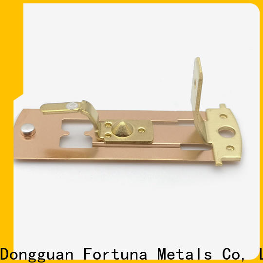Fortuna accessories metal stamping parts factory for electrical terminals for elastic parts