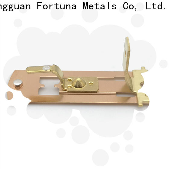 Fortuna plug metal stamping parts factory for connecting devices
