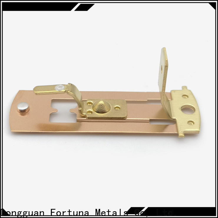 Fortuna durable metal stamping parts wholesale for connectors