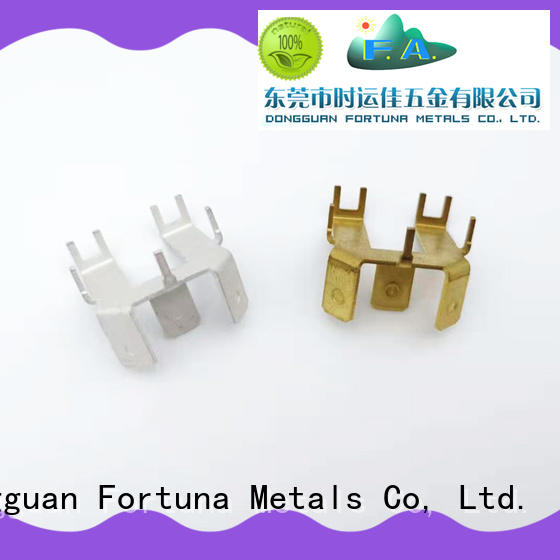 Fortuna good quality metal stamping parts factory for brush parts