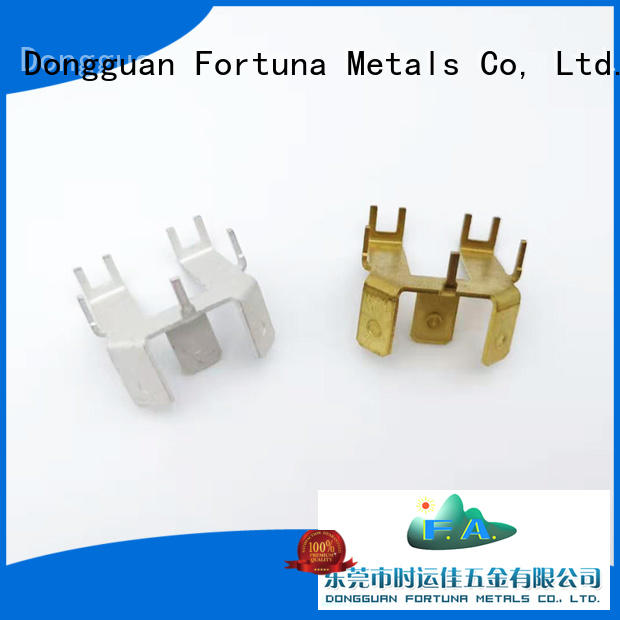 Fortuna multi function metal stamping manufacturers factory for connecting devices