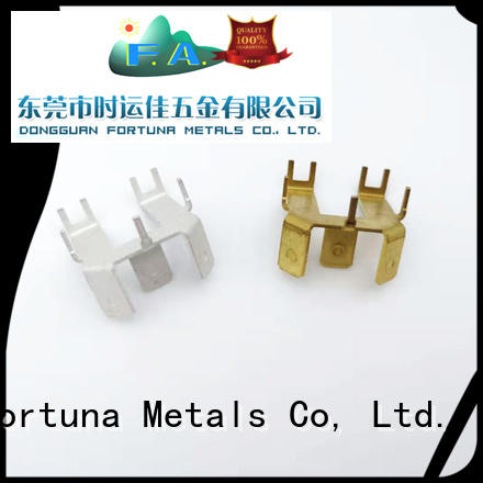 Fortuna stamping metal stamping manufacturers wholesale for electrical terminals for elastic parts