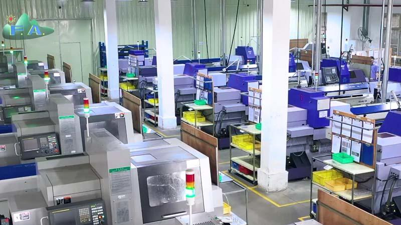 Production processing of metal stamping parts supplier