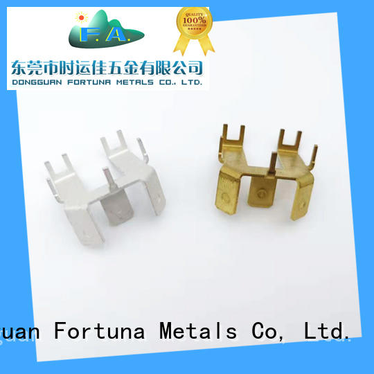 Fortuna metal metal stamping parts manufacturers Chinese for connecting devices