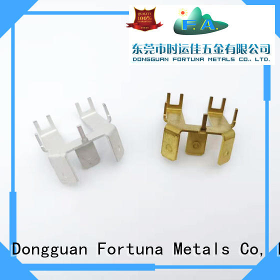 Fortuna discount metal stamping parts Chinese for connecting devices