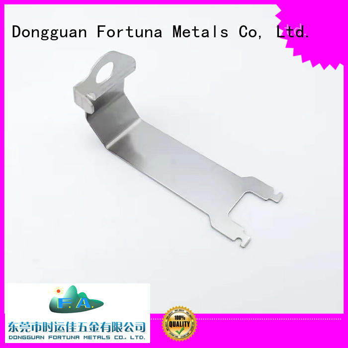 Fortuna precise metal stampings for IT components,