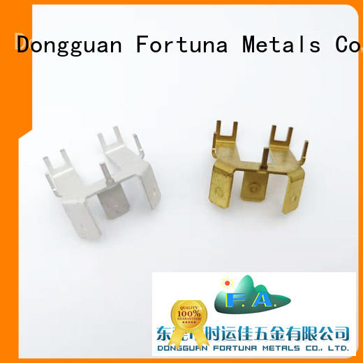 durable metal stamping parts manufacturers factory for connectors Fortuna