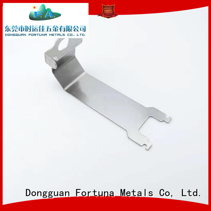 Fortuna standard metal stamping parts online for office components