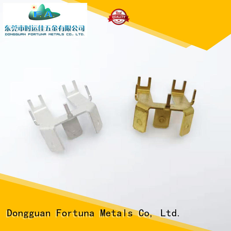 Fortuna durable stamping parts factory for electrical terminals for elastic parts