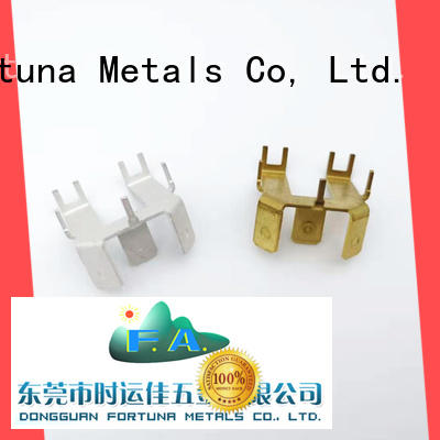 Fortuna good quality metal stampings wholesale for electrical terminals for elastic parts