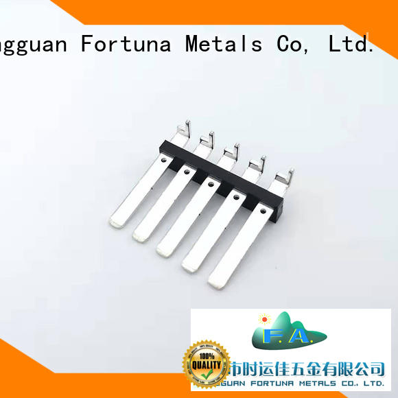 Fortuna high quality precision stamping online for switching