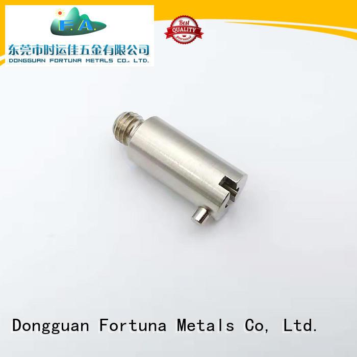 Fortuna precise cnc lathe parts supplier for electronics
