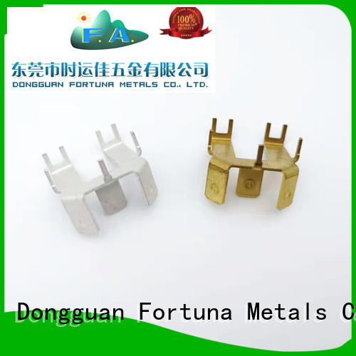Fortuna good quality metal stamping manufacturers Chinese for brush parts