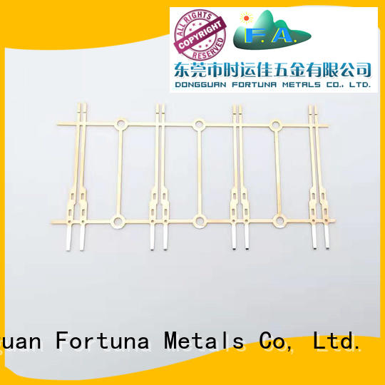 Fortuna multi function lead frame stamping process lead for discrete device lead frames