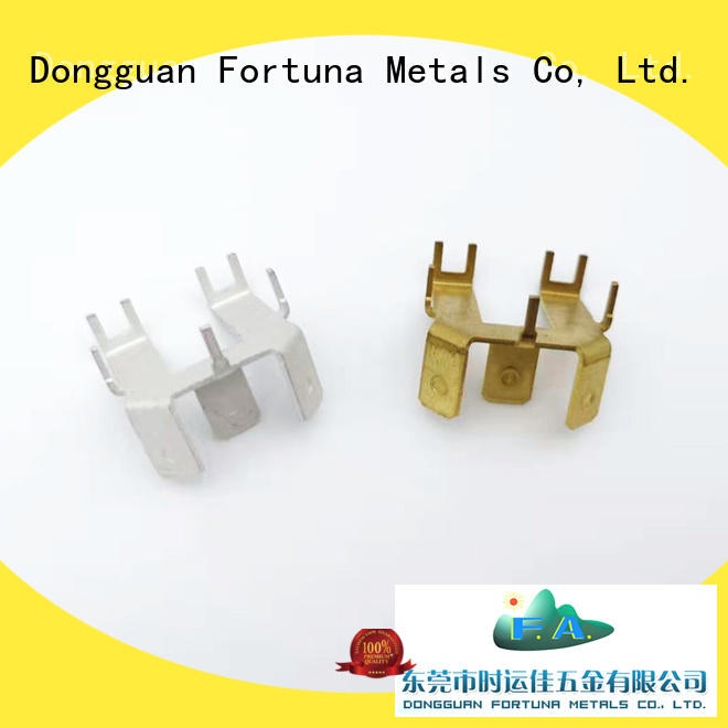Fortuna multi function metal stamping service Chinese for connectors