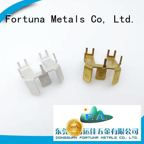 Fortuna good quality metal stamping manufacturers wholesale for connecting devices