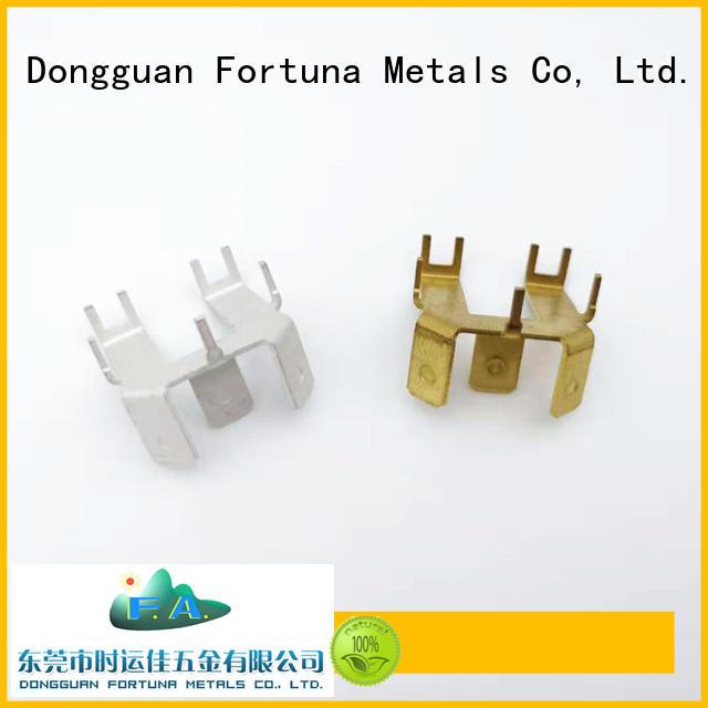 Fortuna metal metal stamping parts maker for brush parts