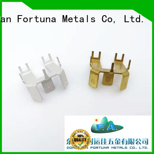 discount metal stamping manufacturers connector wholesale for electrical terminals for elastic parts