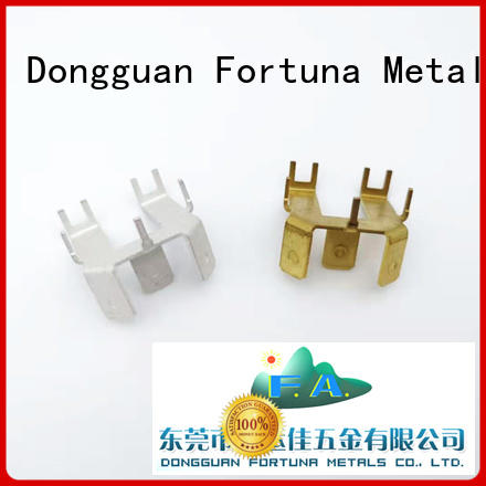 Fortuna discount metal stampings factory for brush parts