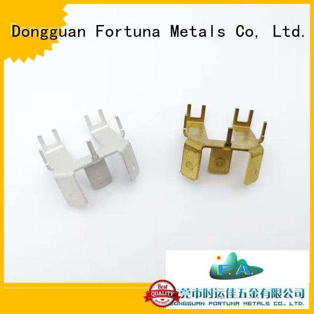 Fortuna accessories metal stamping parts maker for brush parts