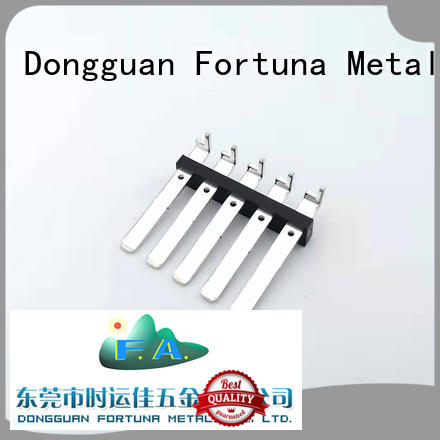 Fortuna terminals precision metal stamping china online for clamping