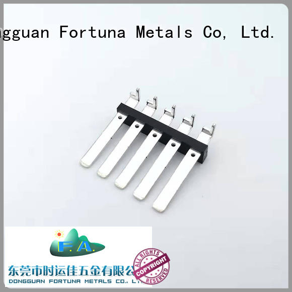 Fortuna stamping precision metal stamping Chinese for conduction,
