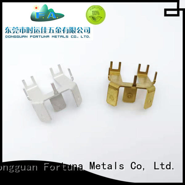 Fortuna discount metal stamping parts manufacturers accessories for connecting devices