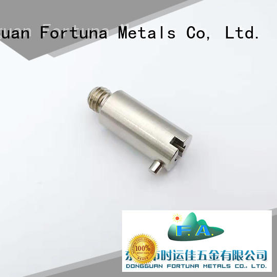 Fortuna precise cnc parts Chinese for electronics