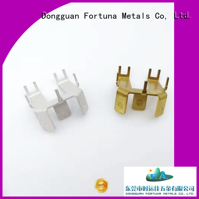 Fortuna durable metal stamping manufacturers stamping for connecting devices