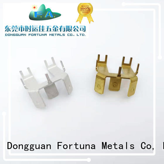 Fortuna plug metal stamping parts maker for connecting devices