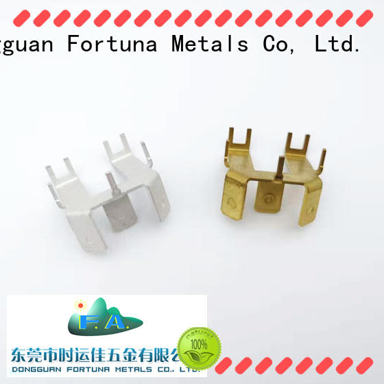 Fortuna multi function metal stamping parts manufacturers stamping for connectors