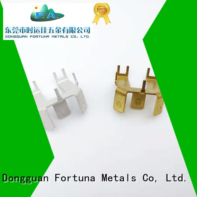 Fortuna discount metal stamping parts manufacturers factory for connecting devices