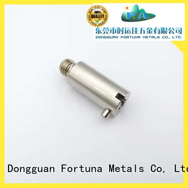 Fortuna machined cnc lathe parts supplier for household appliances for automobiles